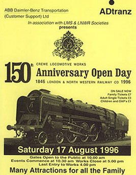 150th Anniversary Open Day