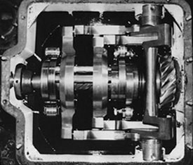 British Caprotti Camshaft Assembly