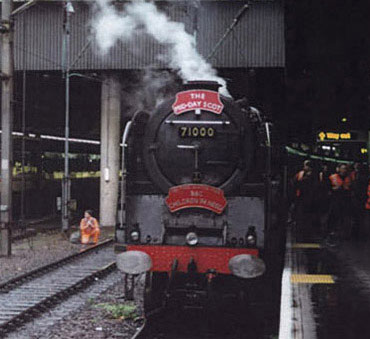 Euston Station - November 1995
