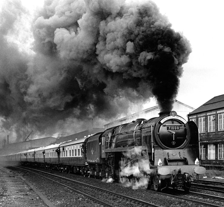 Derby to Didcot - Photograph by John Shuttleworth