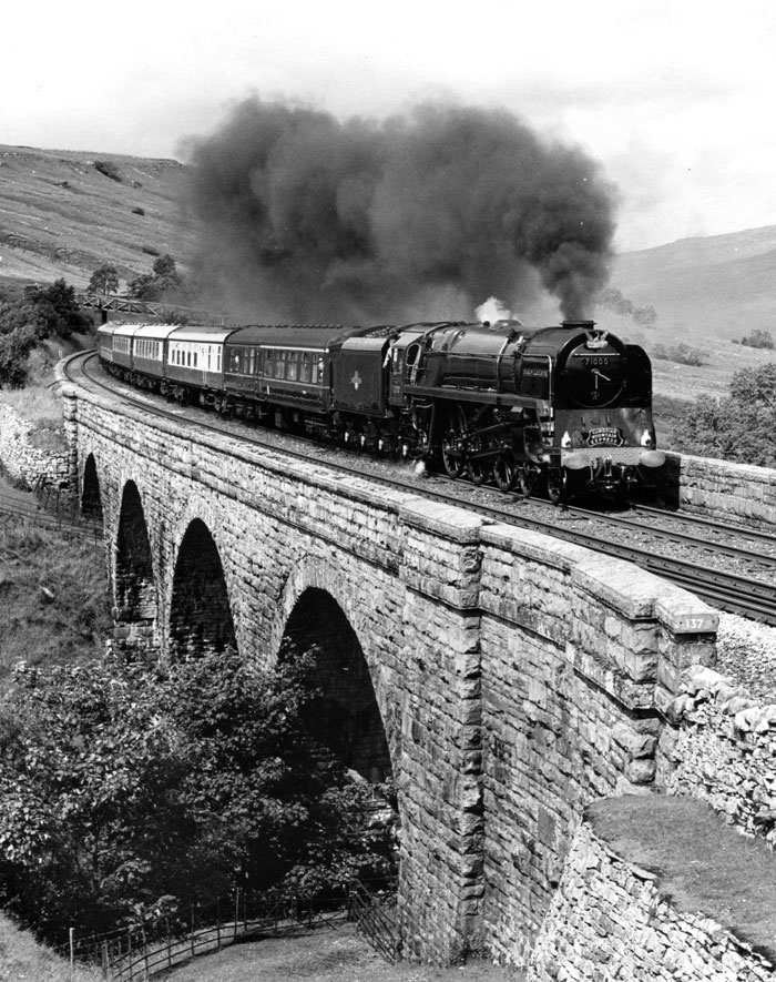 20th July 1991 - Ais Gill Viaduct
