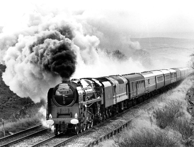Cumbrian Mountain Express (North) - Photograph by  W.A Sharman
